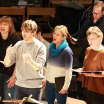 Ben Goodson conducts the Lea Singers in Bach St Matthew Passion