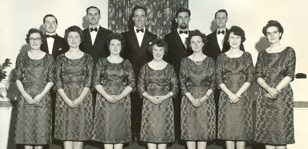 The Lea Singers chamber choir in the 1960s