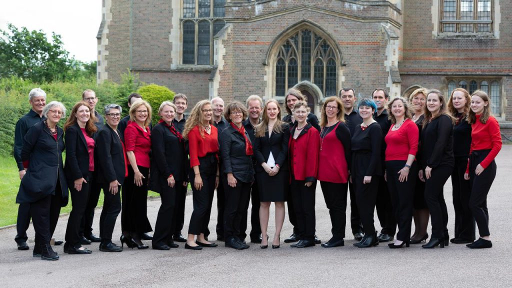The Lea Singers at Academy St Albans in June 2019