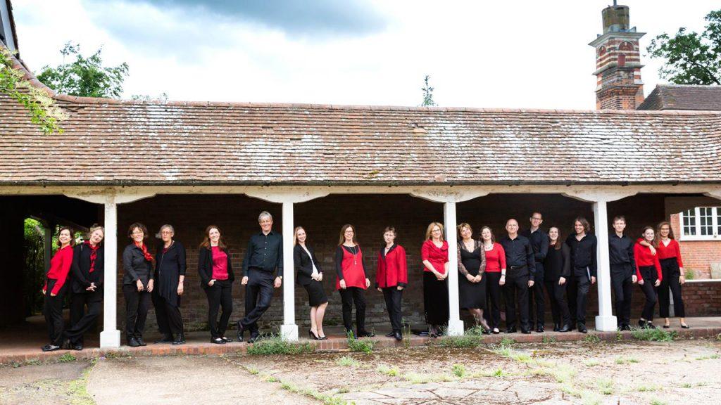 Members of The Lea Singers choir at Academy St Albans in June 2019
