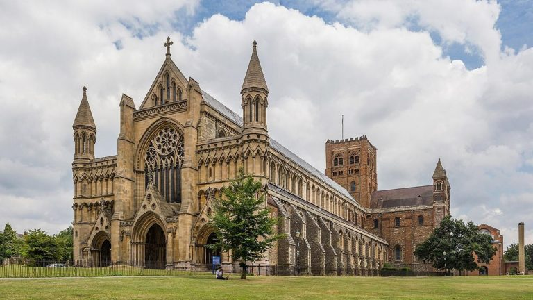 St Albans Cathedral exterior
